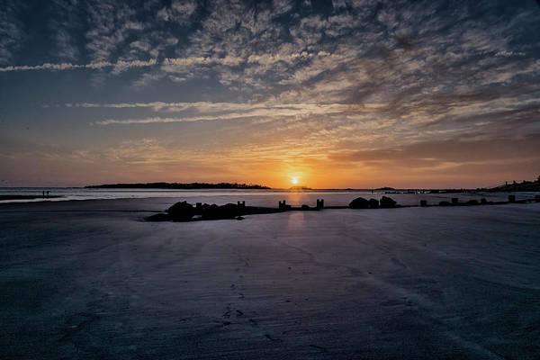Photograph - South Caroline Sunset by Tom Singleton