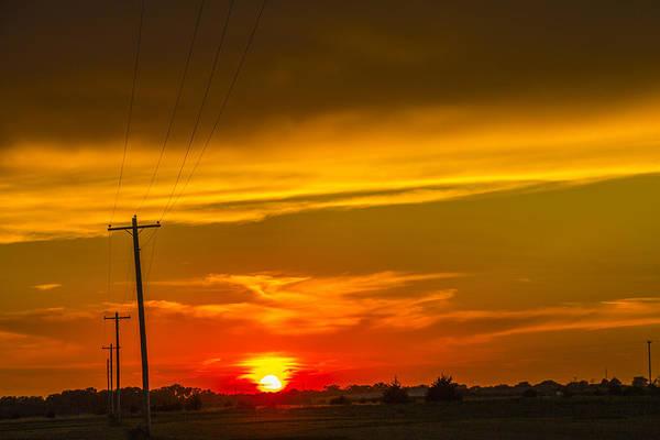 Photograph - South Central Nebraska Sunset 002 by NebraskaSC