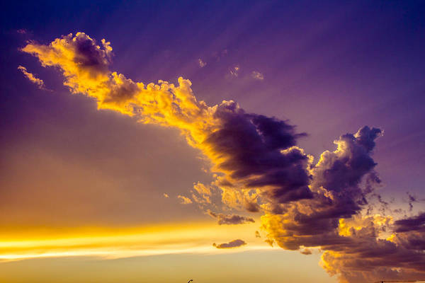 Photograph - South Central Nebraska Sunset 003 by NebraskaSC