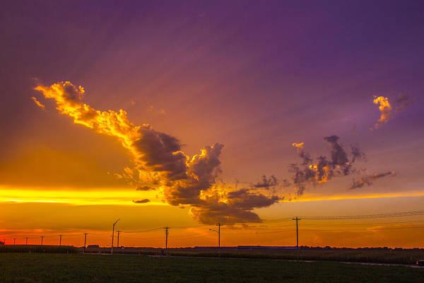 Photograph - South Central Nebraska Sunset 004 by NebraskaSC
