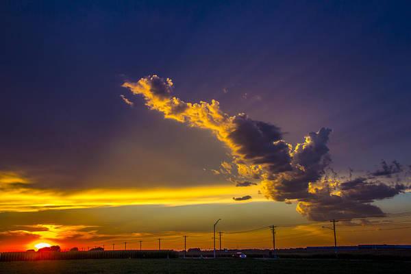 Photograph - South Central Nebraska Sunset 006 by NebraskaSC
