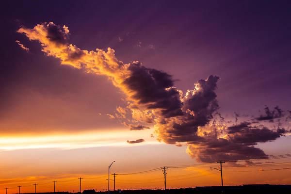 Photograph - South Central Nebraska Sunset 007 by NebraskaSC