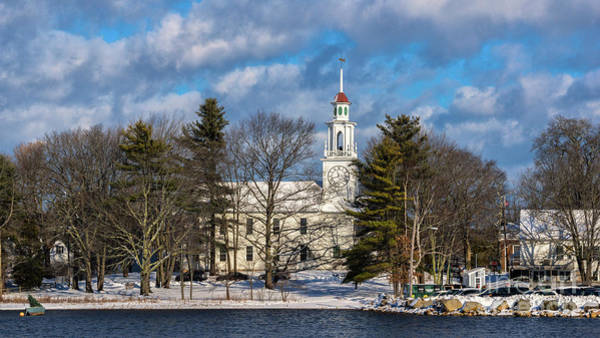 Photograph - South Congregational Church. by New England Photography
