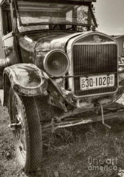 Photograph - South Dakota Classic Sepia Tone by Mel Steinhauer