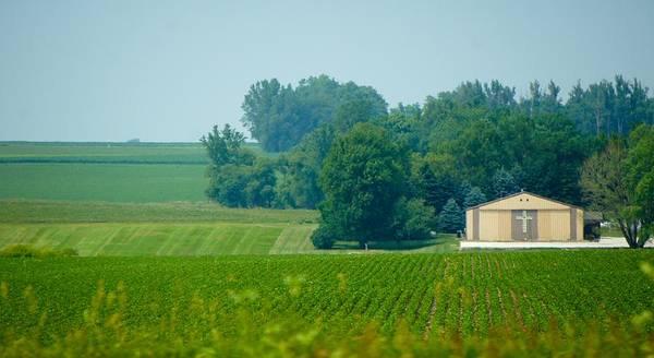 Ranch Digital Art - South Dakota Landscape I by Art Spectrum