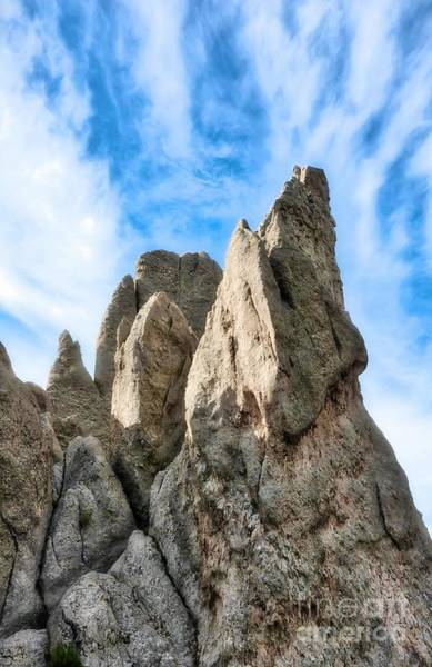 Photograph - South Dakota Rocks # 4 by Mel Steinhauer