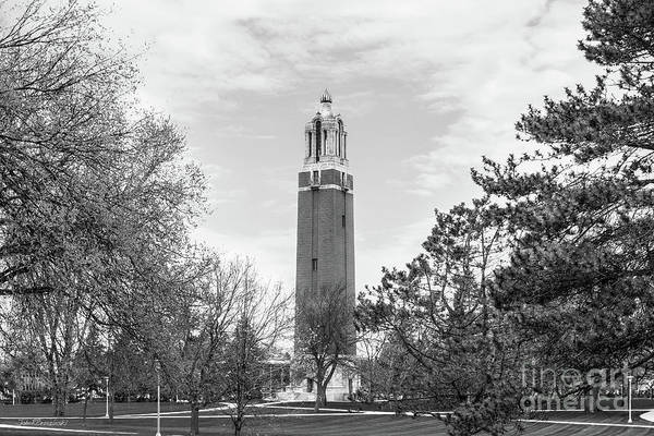 Photograph - South Dakota State University Coughlin Campanile by University Icons