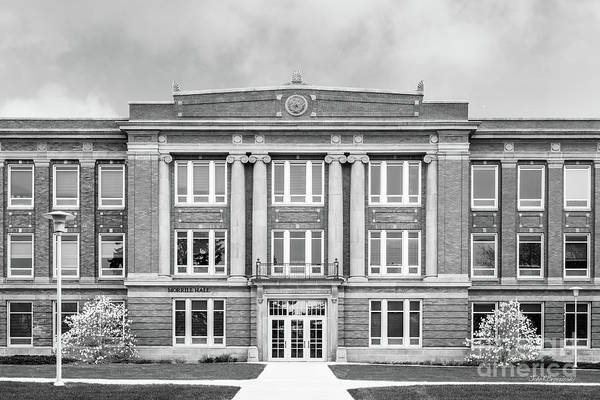 Photograph - South Dakota State University Merrill Hall Entry by University Icons