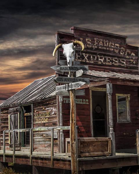 Photograph - South Dakota Wells Fargo Express Office Station by Randall Nyhof
