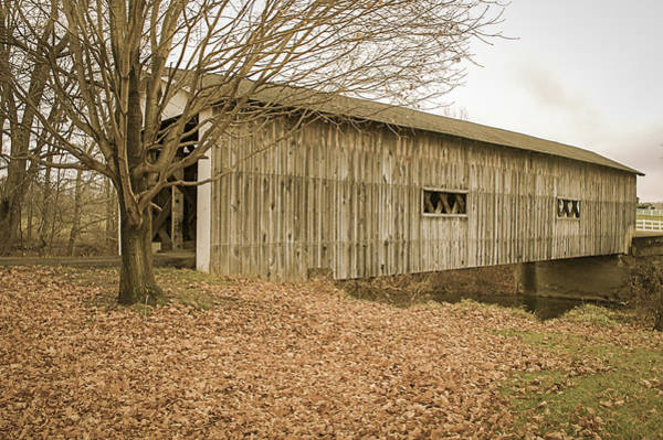 Photograph - South Denmark Rd Covered Bridge  by Jack R Perry