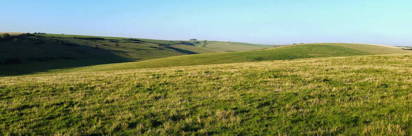 Digital Art - South Downs Panorama by Julian Perry