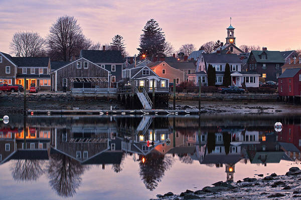 Wall Art - Photograph - South End By Night by Eric Gendron