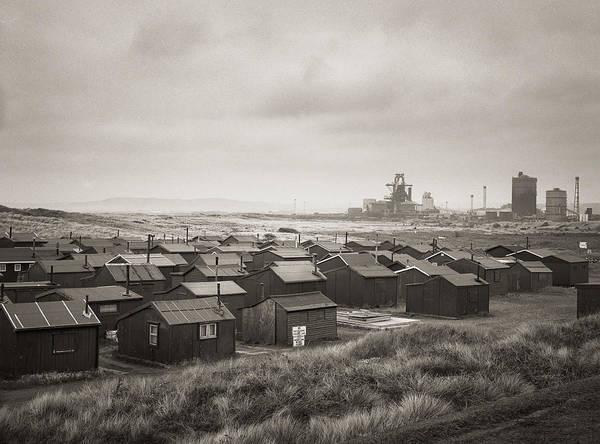Wall Art - Photograph - South Gare Teeside Fishing Huts by Ian Barber