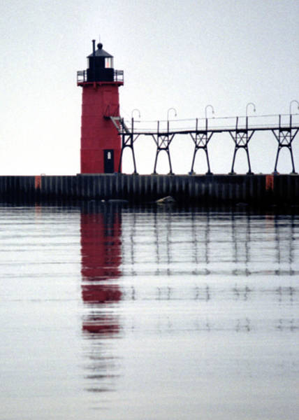Photograph - South Haven Reflection by Kenneth Campbell
