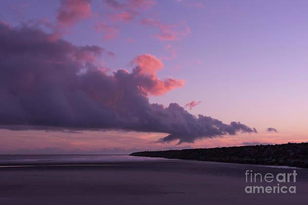 Wall Art - Photograph - South Jetty At Sunset by Masako Metz