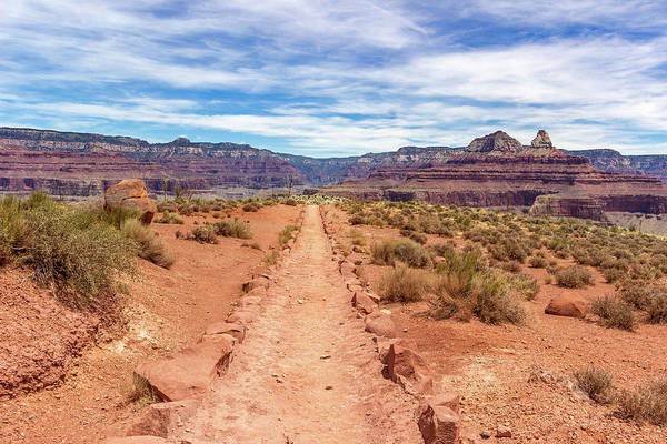 Photograph - South Kaibab Trail by Pete Hendley
