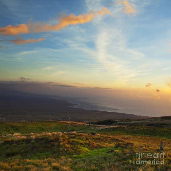 Photograph - South Kohala Sunset by Charmian Vistaunet