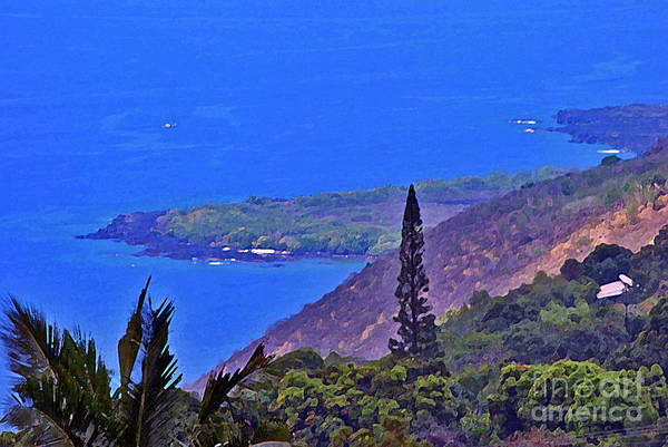 Photograph - South Kona Coastline by Bette Phelan