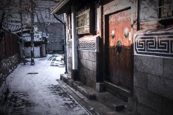 Photograph - South Korean Hanok by Joan Carroll