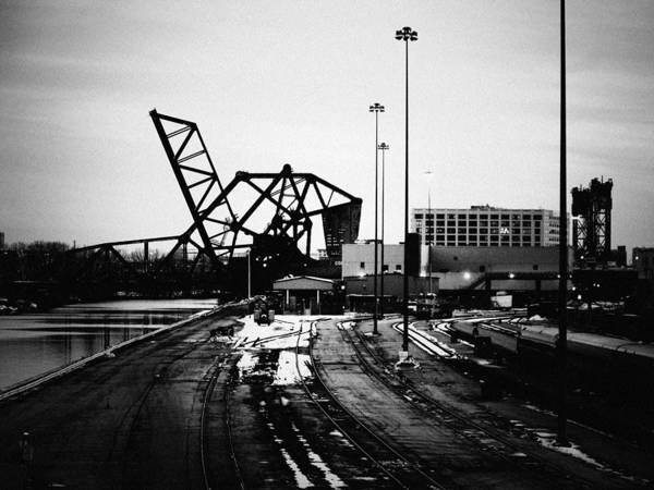 Art Print featuring the photograph South Loop Railroad Bridge by Kyle Hanson