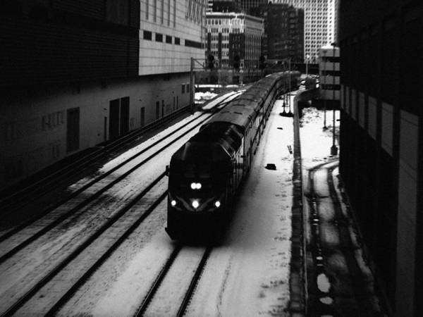 Art Print featuring the photograph South Loop Railroad by Kyle Hanson