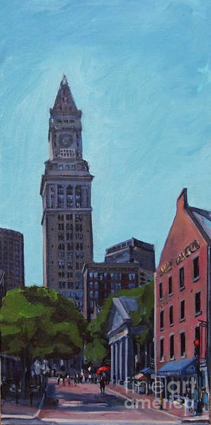 Painting - South Market Boston by Deb Putnam