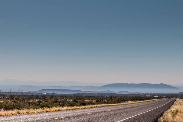 Photograph - South On Us Route 67 by SR Green