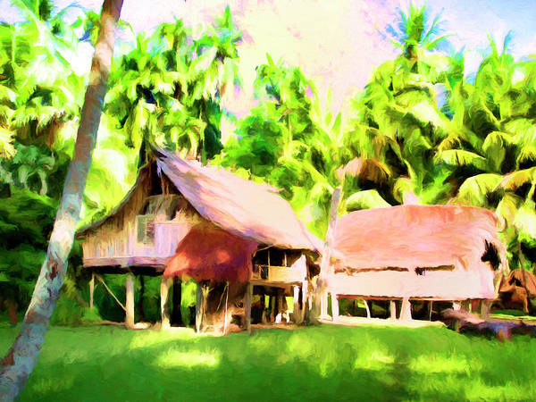 Painting - South Pacific Idyll by Dominic Piperata