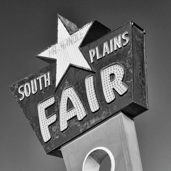 Fair Ground Photograph - South Plains Fair by Stephen Stookey