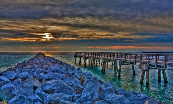 Wall Art - Photograph - South Point Pier by William Wetmore
