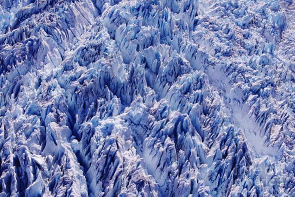 Expanse Photograph - South Sawyer Crevasses by John Hyde - Printscapes