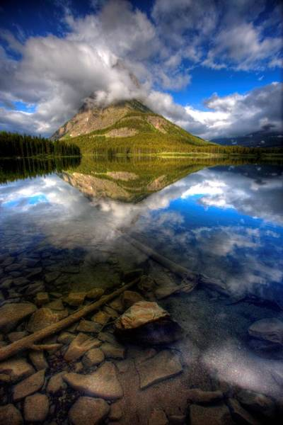 Photograph - South Swiftcurrent by David Andersen