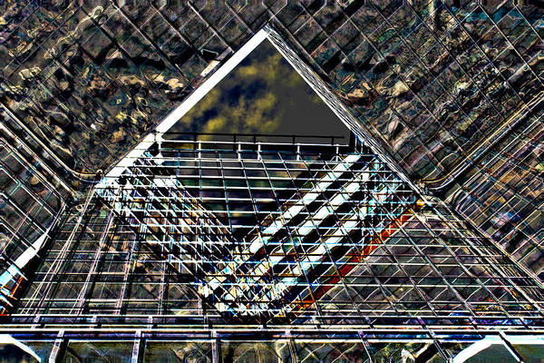 Square Mile Wall Art - Digital Art - Southbank London Abstract by David Pyatt