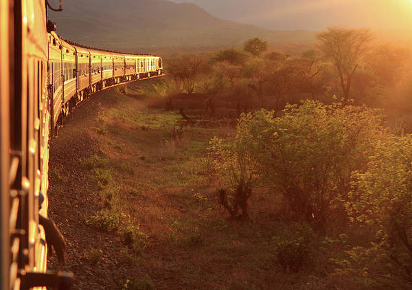 Photograph - Southbound On The Tazara by Aidan Moran