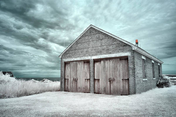 Wall Art - Photograph - Southeast Light Boathouse by Luke Moore