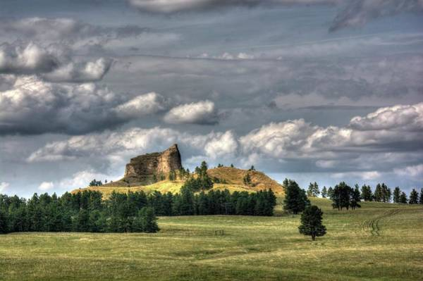 Belltower Butte Art Print