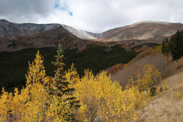 Photograph - Southern Approach Up Mount Elbert by Cascade Colors