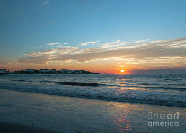 Photograph - Southern Atlantic Sunrise by Dale Powell