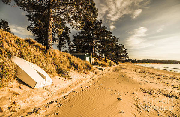 Dinghies Photograph - Southern Australia Coast by Jorgo Photography - Wall Art Gallery