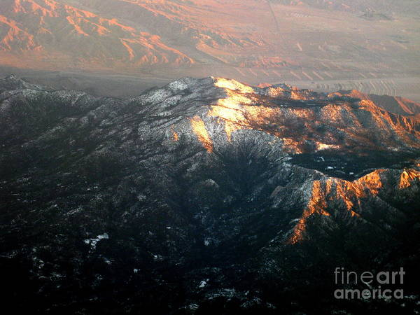 Photograph - Southern California Mountains by Christopher Shellhammer