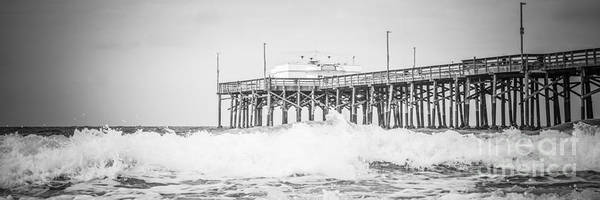 Wall Art - Photograph - Southern California Pier Panoramic Picture by Paul Velgos