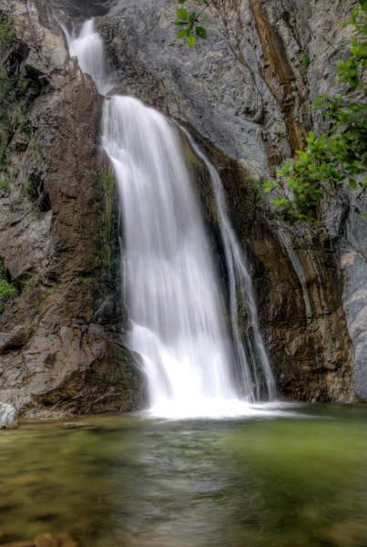 Photograph - Southern California Waterfall by Eddie Yerkish