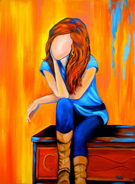 Faceless Painting - Southern Charm by Debi Starr