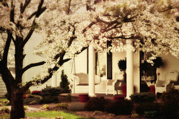Front Porch Photograph - Southern Comfort by Kathy Jennings