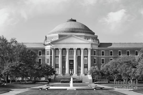 Photograph - Southern Methodist University Dallas Hall by University Icons