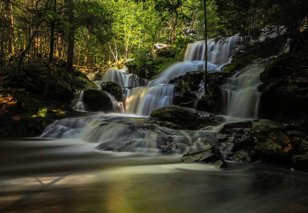 Photograph - Southern New Hampshire Garwin Falls by Juergen Roth