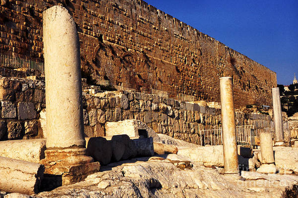 Photograph - Southern Temple Mount Jerusalem by Thomas R Fletcher