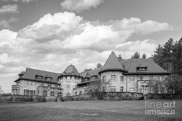 Wall Art - Photograph - Southern Vermont College Everett Mansion by University Icons