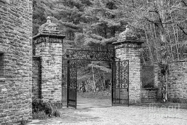 Wall Art - Photograph - Southern Vermont College Gate by University Icons