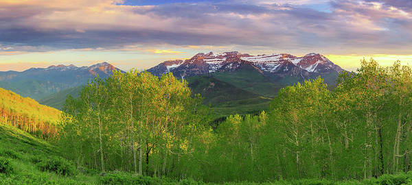 Photograph - Southern Wasatch Panorama. by Johnny Adolphson